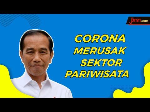 Dampak Corona, Jokowi Beri Diskon Kunjungan Wisata ke Indonesia