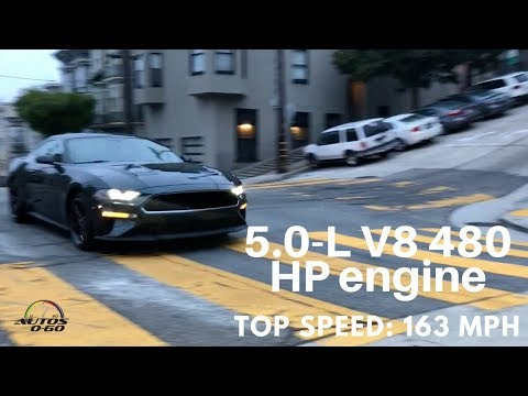 Mustang Bullitt Special Edition car chase in San Francisco