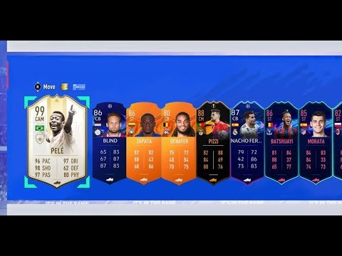 OMGGGGG! 9 Walkouts In 1 Pack!!!!! Greatest Futties Packs Ever! Fifa 19 Ultimate Team