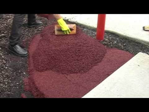 Wetpour Basics - How To Lay Rubber Wetpour