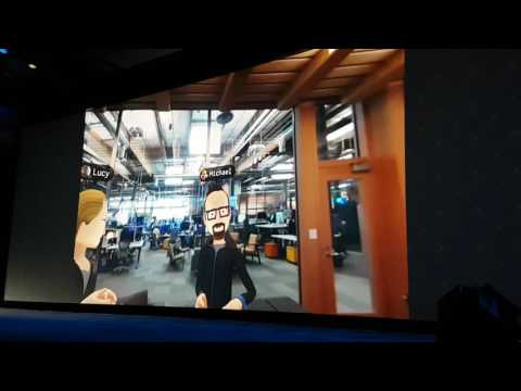 Oculus Connect 3 基調講演 ソーシャルVR by Facebook