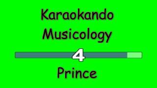 Karaoke Internazionale - Musicology - Prince ( lyrics )