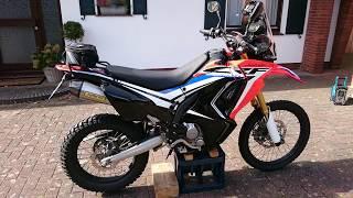 2018 honda 250l. fine 250l honda crf 250 rally arrow xcone exhaust soundcheck inside 2018 honda 250l