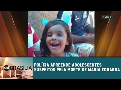 Policia apreende adolescentes suspeitos pela morte de menina de 5 anos | SBT Brasília 29/05/2018