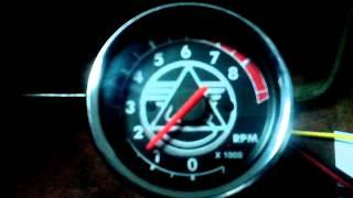Калибровка тахометра для мотоцикла Урал
