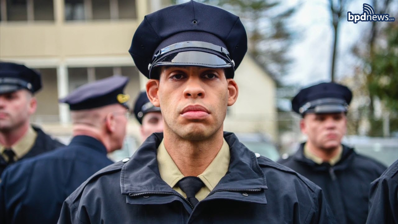 A historically diverse police academy class reflects