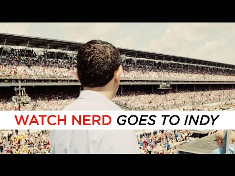 CHASING TIME: TAG Heuer @ Indianapolis 500 Race With Ariel Adams | aBlogtoWatch