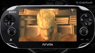 PlayStation Vita: Metal Gear Solid HD Collection