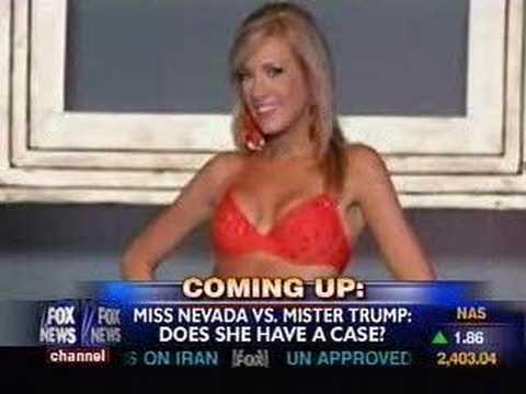 Fox News Anchor screws up Miss Nevada