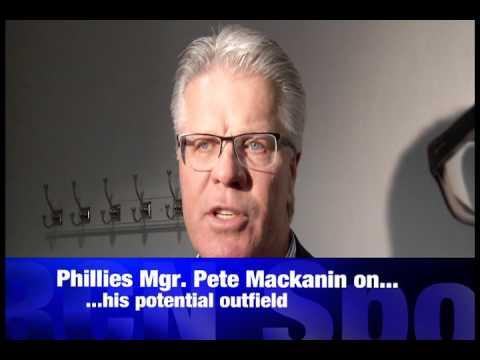 RCN SportsTalk: Phillies Manager Pete Mackanin on Phillies upcoming season