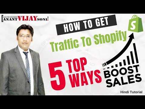 How To Get Traffic To Shopify Store thumbnail