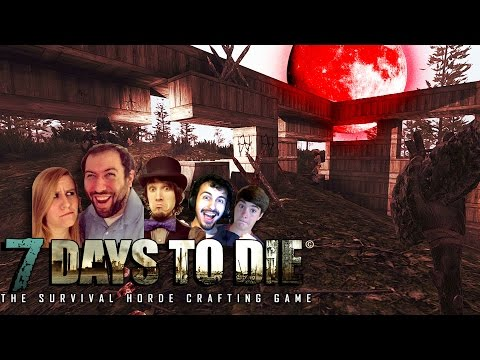 ANOTHER HORDE ATTACKS | 7 Days To Die Part 13