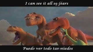Crystals - Of Monsters And Men (Lyrics ing./esp.) The Good Dinosaur