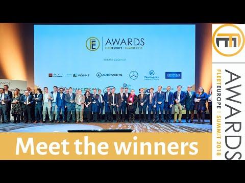 2018 Fleet Europe Awards: meet the winners