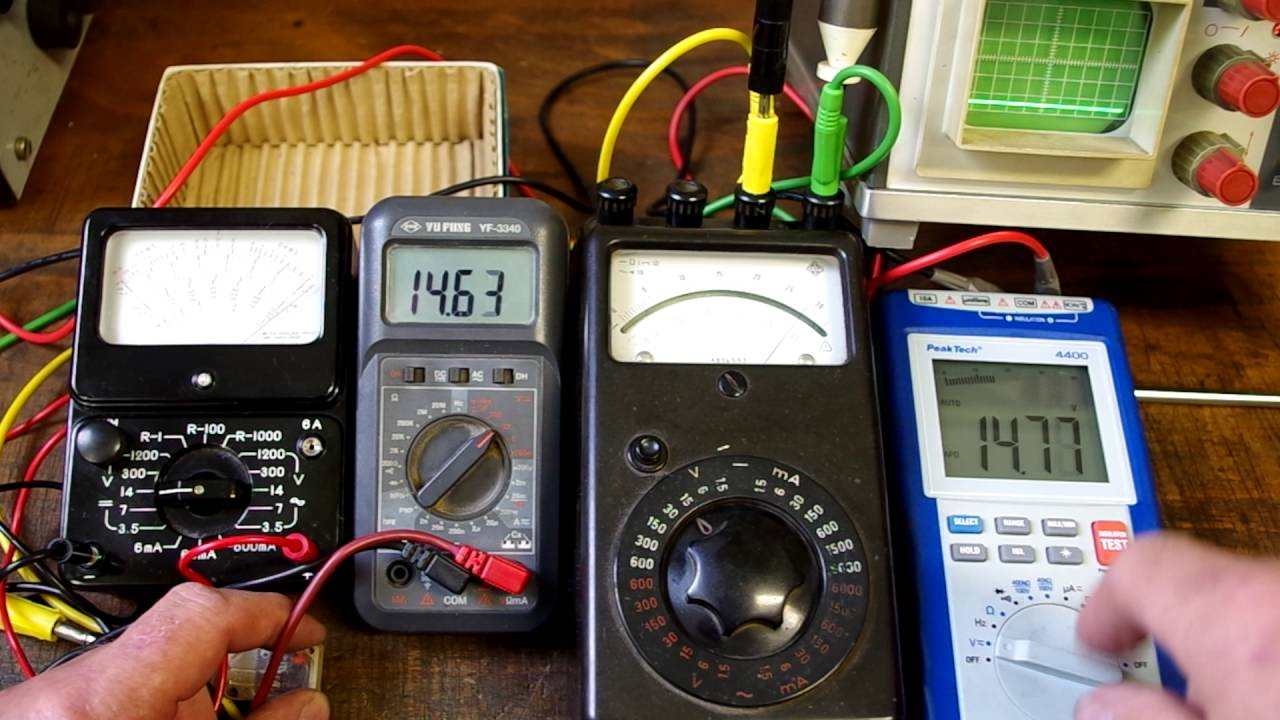 Analog Vs Digital Multimeter
