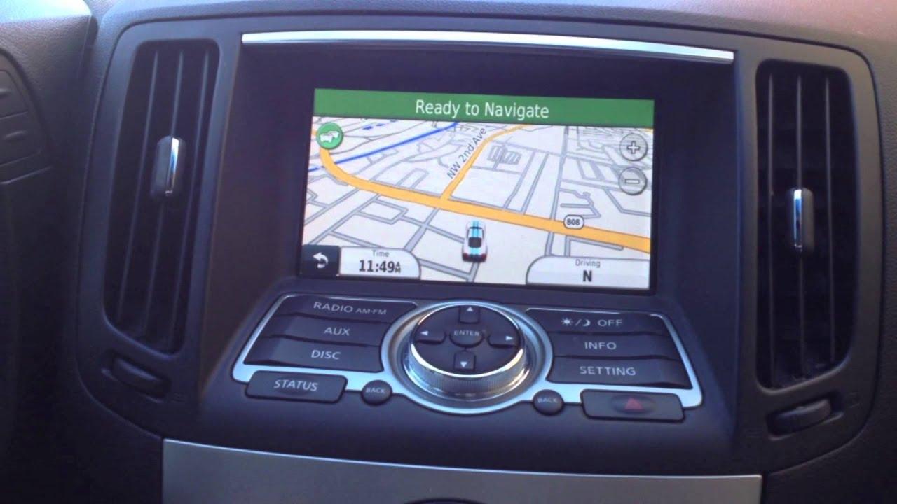 Ntx Nissan Infiniti Add Touch Screen Garmin Navigation