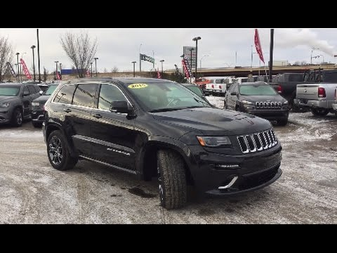 Custom Jeep Grand Cherokee >> 2015 Jeep Grand Cherokee Srt 4x4 Custom Jeep With Cold Air Intake Crosstown Auto Centre