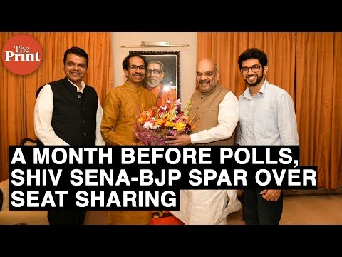 A month before polls, Shiv Sena-BJP spar over seat sharing