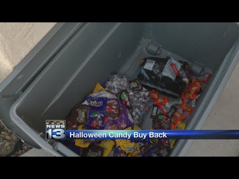 Albuquerque kids trade Halloween candy for cash