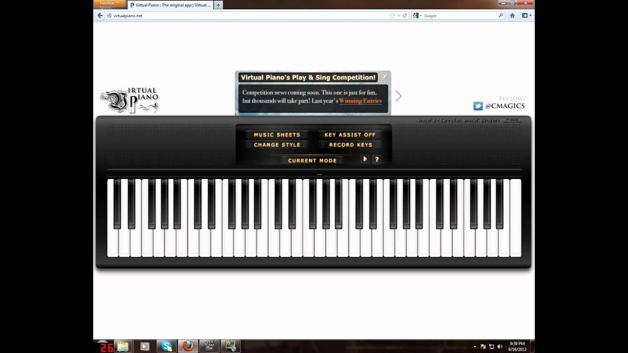 Kal ho na ho virtual piano youtube kal ho na ho virtual piano hexwebz Images