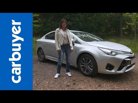 Toyota Avensis review Carbuyer