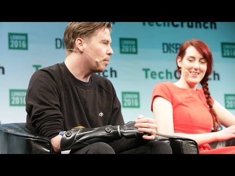 Samantha Payne of Open Bionics is Printing Replacement Limbs at Disrupt London 2016