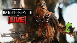 ⚡BATTLEFRONT 2 LIVE - Reviewing Top 5 Plays Clips Since the Audio Keeps dying in-game...