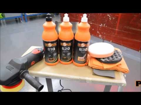 Cleaning polishing pads