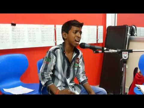 ajay brijwasi in u can sing music academy mathura