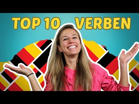 The Top 10 Most Used German Verbs (+ Their Conjugation) - Part 1