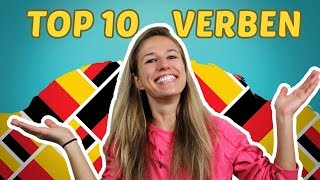 The Top 10 Most Used German Verbs (+ Their Conjugation)