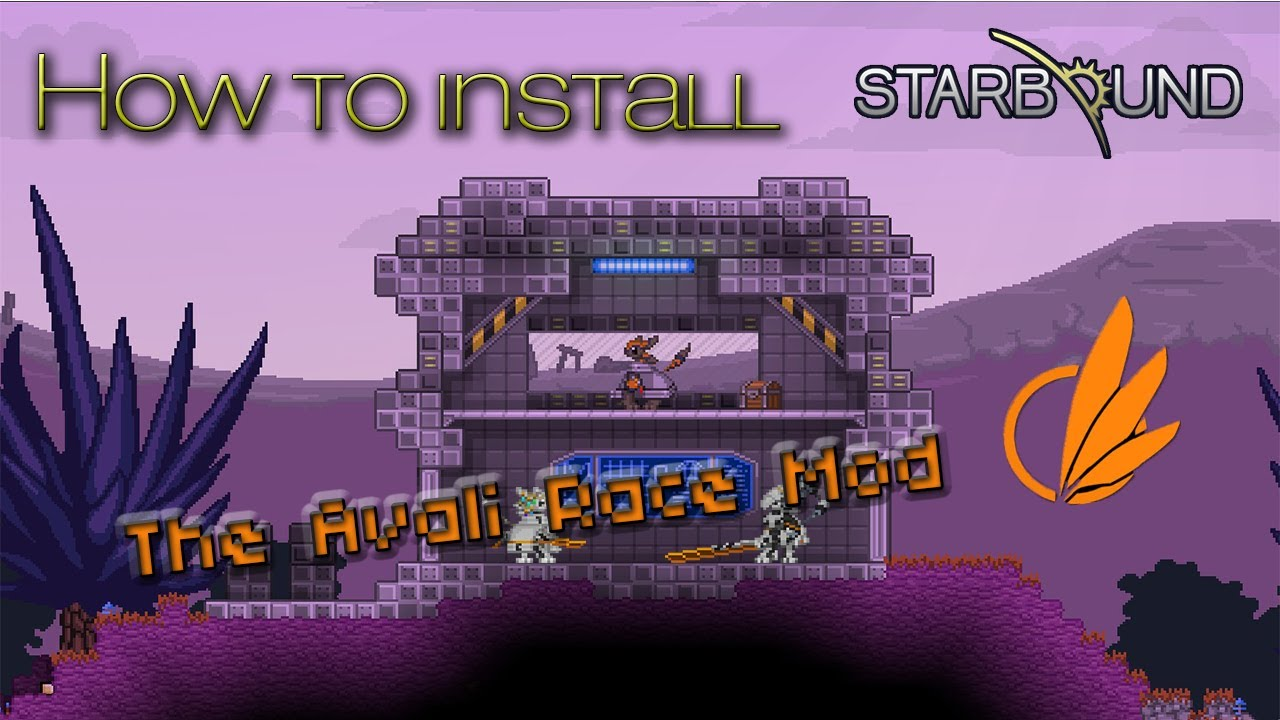 Starbound Wiring Mod Free Diagram For You Station How To Install The Avali Race Youtube Hylotl