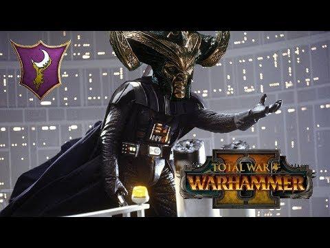 Dark Elves vs Greenskins | THROWIN SHADES - Total War Warhammer 2