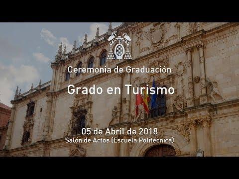 Graduación del Grado en Turismo · 05/04/2018