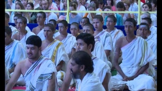 Glimpse of navratri 2017 celebrations (day 2) with gurudev sri sri ravi shankar