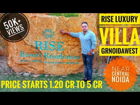 Rise Luxury Villa Noida Extension || Villas For Sale Noida