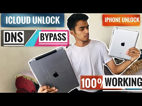 Icloud DNS Bypass-i Phone (unlock) 100% Successful-easy Method Ever.