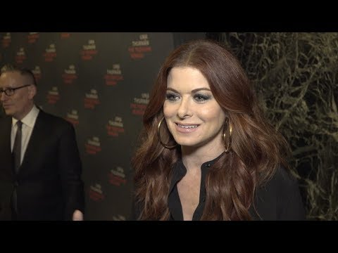 Debra Messing Opening Night | The Parisian Woman on Broadway