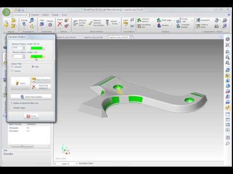 WorkXPlore 3D - 半径検証