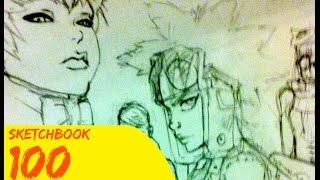100 Manga | Comic Sketches