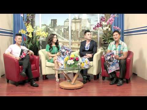 VBS TV Talkshow - Truong Minh Cuong Hoa Hau Thao Lam Leon Vu