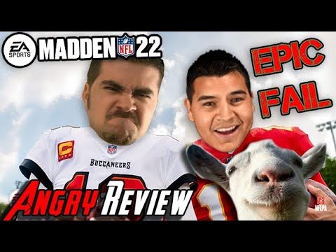 Madden 22 – Angry Review (& Angry Rant!)