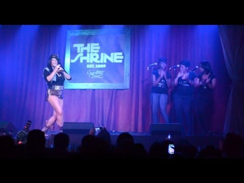 """CeCe Peniston Performs """"We Got A Love Thang"""" & """"He Loves Me 2"""" At The Shrine Chicago"""
