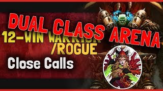 Hearthstone Arena | 12-Win Warrior Rogue: Close Calls (Dual Boomsday #4)