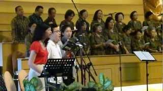 Hari Raya Pentakosta, GKI Surya Utama.