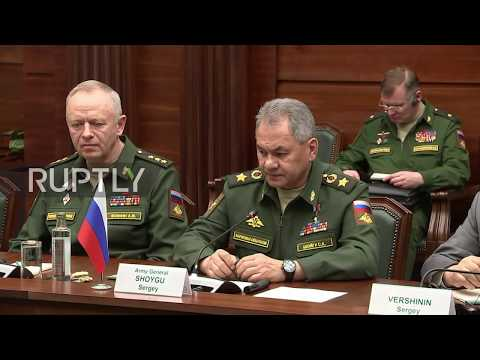 Russia: Syrian strikes 'came at the most inappropriate moment' – Shoigu to de Mistura