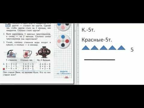 Как оформлять задачу во 2 классе