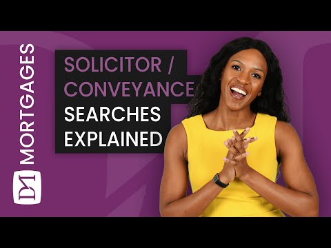SOLICITOR/CONVEYANCING SEARCHES EXPLAINED (House Buying Process)
