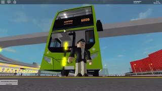 Go-ahead Roblox  Service 600 B   Kanford Bus Terminal über Kanford Park 