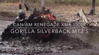 Video CAN AM RENEGADE XMR 1000 ON GORILLA SILVERBACK MT2'S download MP3, 3GP, MP4, WEBM, AVI, FLV Januari 2018